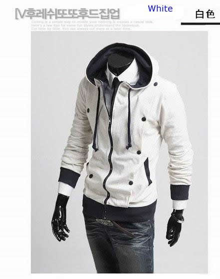 New Fashion Mens Slim Fit Sexy Zip Up Stylish Jacket Designed Hoodies